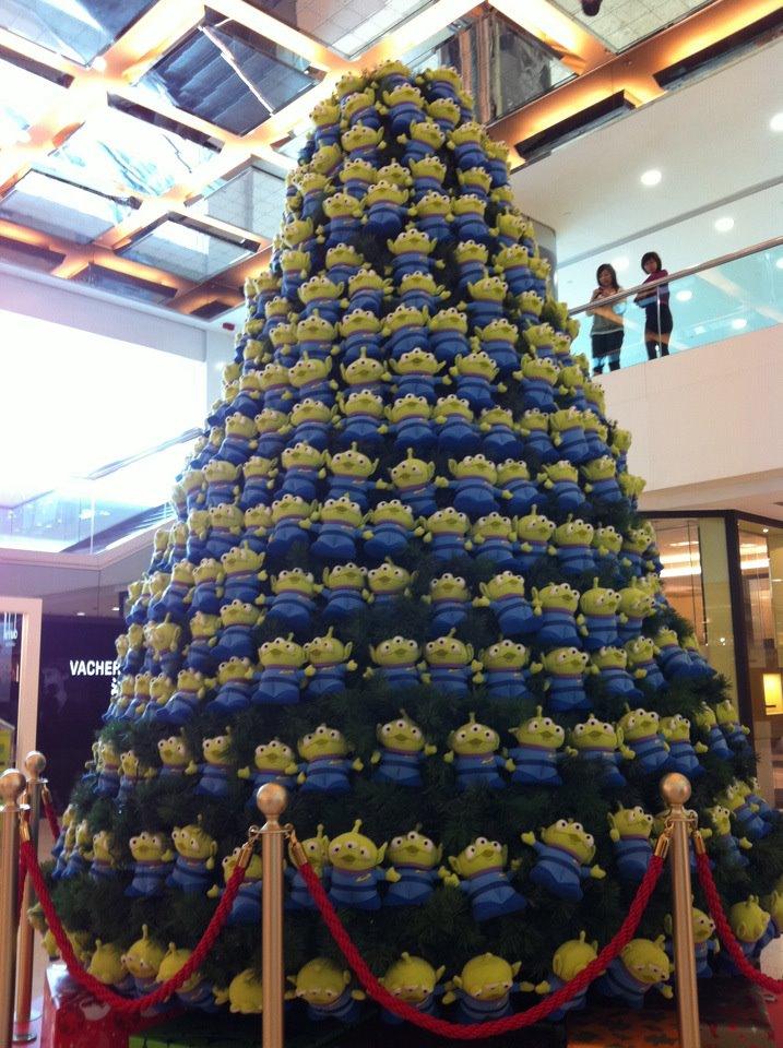 聖誕卡通燈飾 X 全景拍攝apps ~
