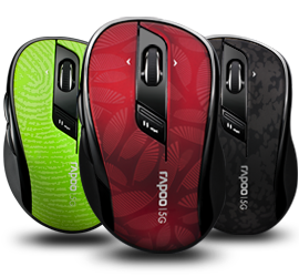 個人口味5Ghz無線滑鼠— Rapoo  7100P