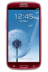 女士‧獨家發售‧石榴紅 Galaxy S3