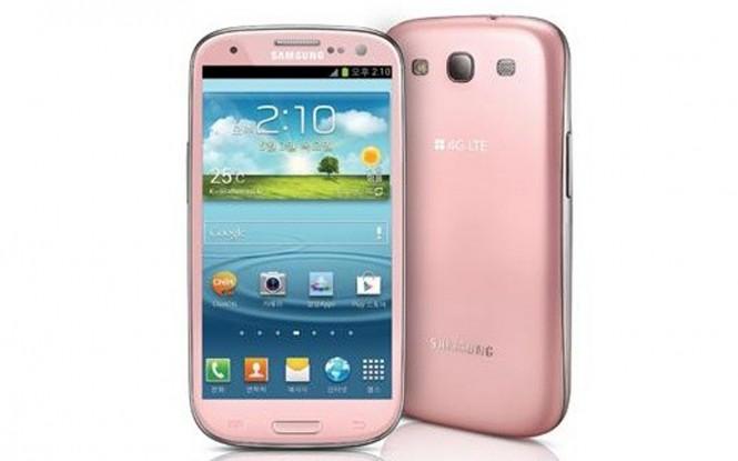 迷人pink lady! 粉紅GS3韓國限定