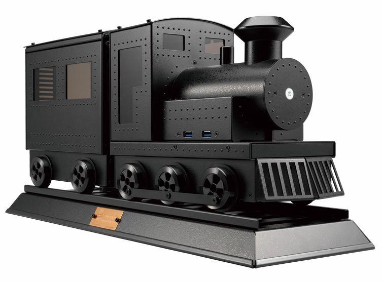 玩味蒸汽火車頭機箱PC-CK101