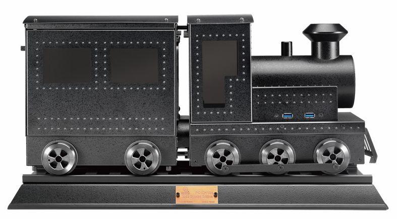 玩味蒸汽火车头机箱pc-ck101