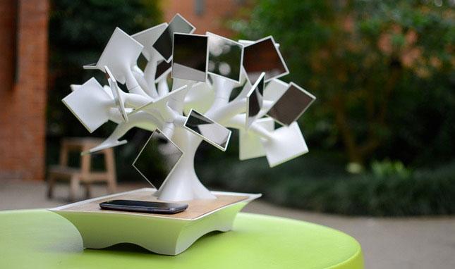 Electree+太陽能無線充電樹