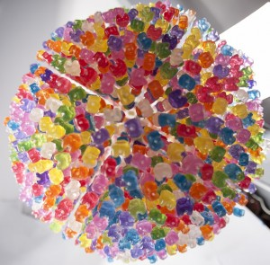 Gummy Bears Chandelier (7)