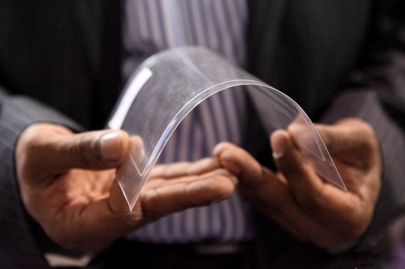 可捲可摺超薄彈性玻璃