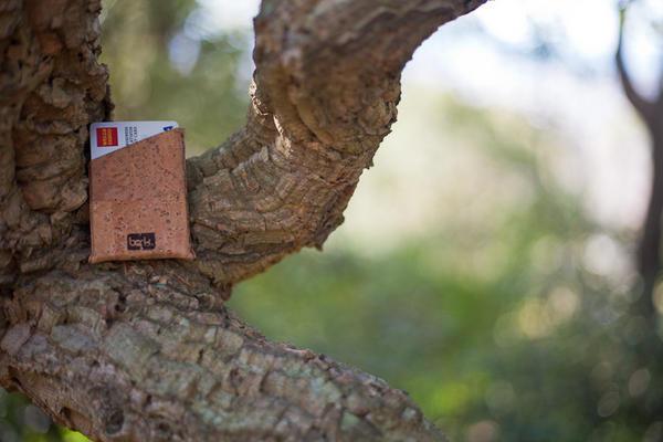 簡約就是王道!天然樹皮Bark皮夾