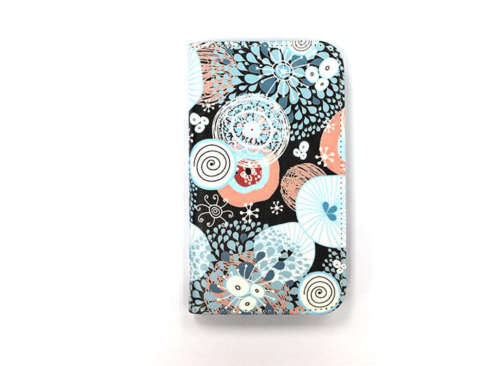 FabriShop自由設計‧豪華皮製手機保護套