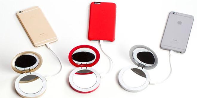 Silicon Valley充電鏡盒  迷人眼神霖「電」你