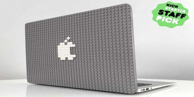 Lego迷注意! Macbook BrikCase任你砌