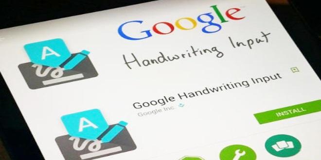 「狂派」起義 Google手寫輸入法