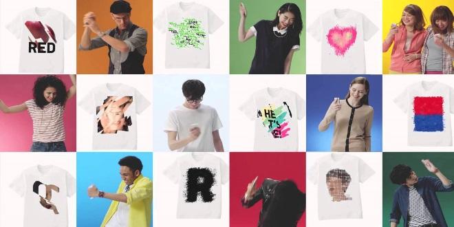 日本UNIQLO限定     Shake 出自家T-shirt