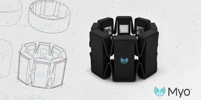 MYO手勢控制袖標 智能世界來了