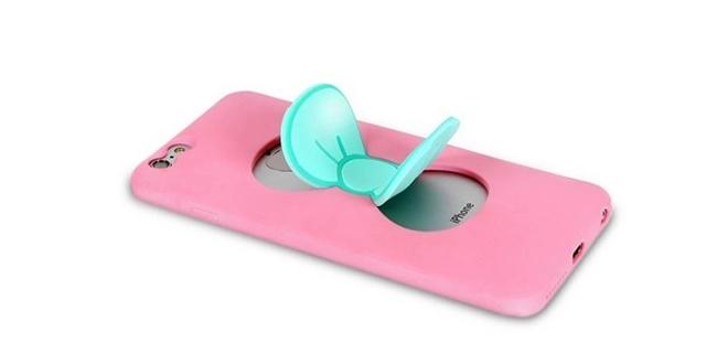 好打耳 Hello Kitty蝴蝶手機殼
