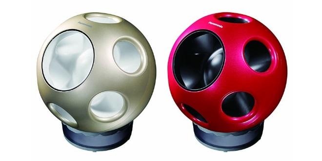 Panasonic球型風扇  蝸居潮流氣息