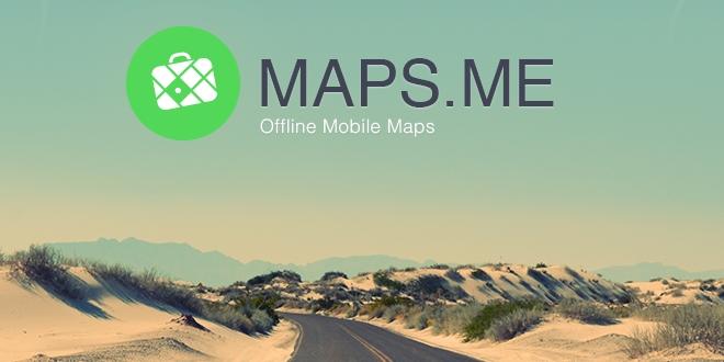 Maps.Me「零」流量 暢遊異國