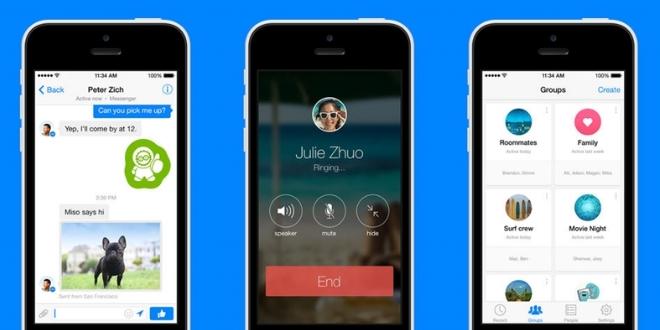 全能Facebook Messenger保持視像通話