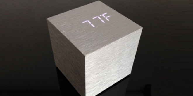 Alume Cube Alarm Clock     AA級蝸居擺設