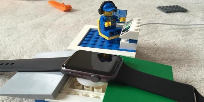 Lego創意召集 Apple Watch充電座