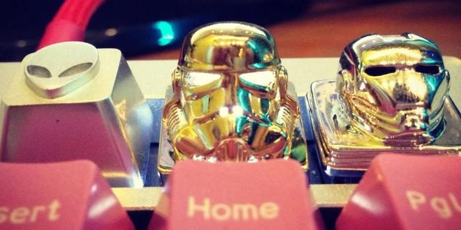 GeekKeys動漫鍵盤 要威當然要帶頭盔