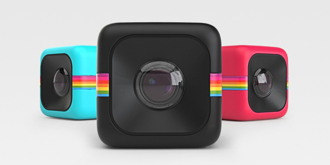 迷你兵團Polaroid CUBE Action Cam 上山下海唔駛驚