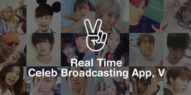 最愛K-pop偶像演唱會  「V」 App 直播萬人高呼Encore