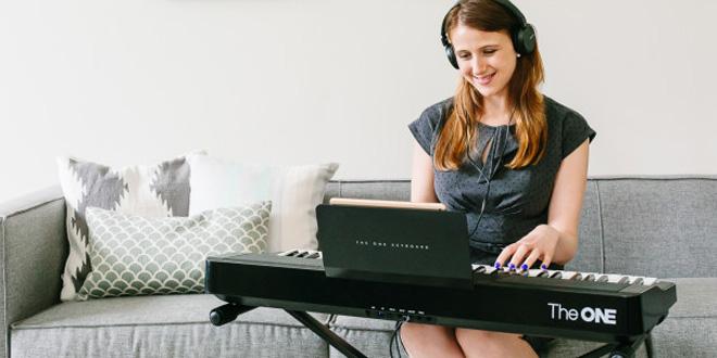 自學鋼琴無得彈 The ONE Smart Piano 寓學習於娛樂
