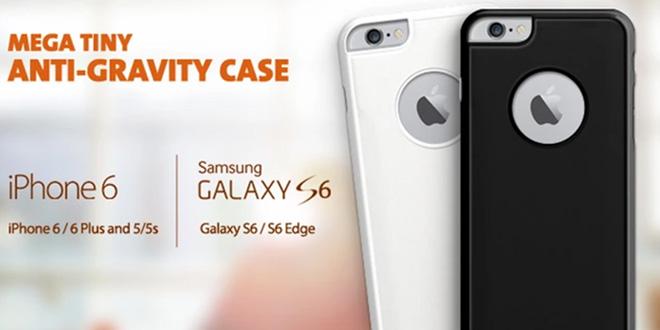 Mega Tiny Anti-Gravity手機殼 哪裡來的吸引力?
