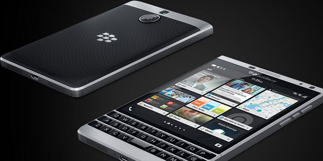 BlackBerry Passport銀色版手機 無可媲美的真實觸感