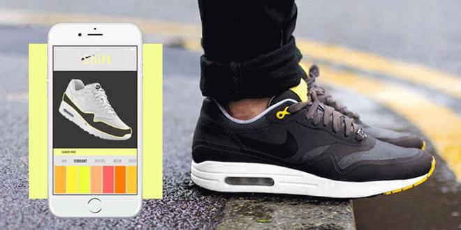 Shift Sneakers智能換色跑鞋 看我七十二變