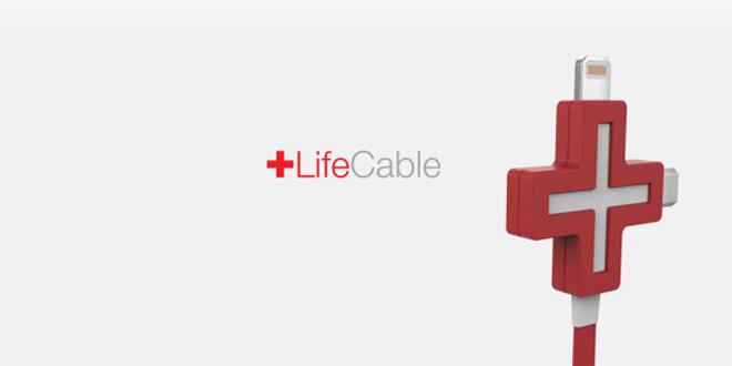 開心Share!LifeCable充電線 手機電量可以兩份用
