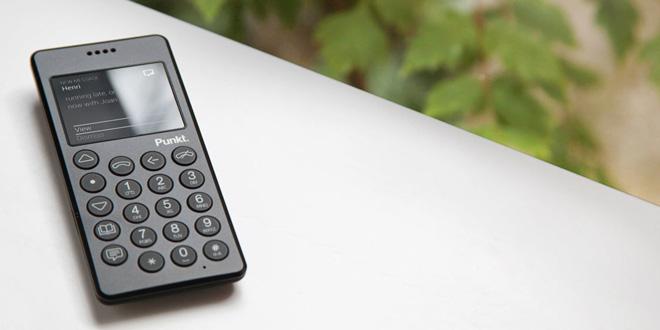 Punkt. MP01反智能手機 反璞歸真最簡單!
