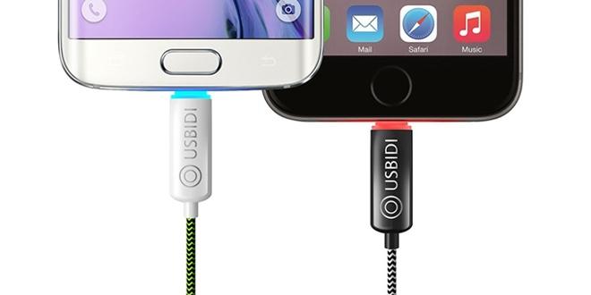 UsBidi充電線 充電速度快人兩倍!