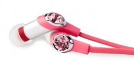 Swarovski版桃紅Dulcia耳機 單身女都可以「放閃」!