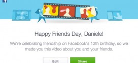 Facebook12歲生日 搞個Friends Day回顧一吓朋友仔