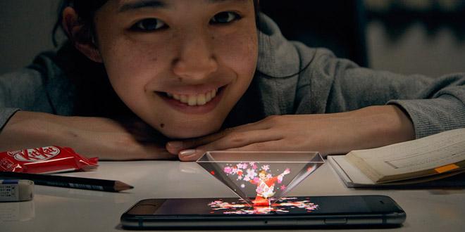 日本限定款Kit Kat Mail  3D偶像明星為你打打氣!
