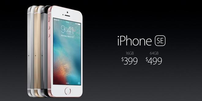 4吋iPhone SE正式開估 猶如平價版iPhone 6s