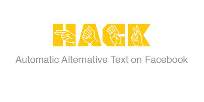 Facebook推自動另類文字 相片盲人都「睇」到!