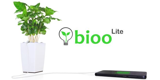 植物會發電?Bioo Lite幫手機一日叉滿三次電