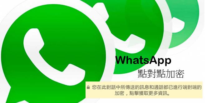 WhatsApp出點對點加密功能 防止其他人偷睇!
