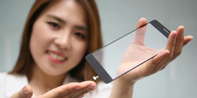 LG破格螢幕指紋解鎖!手機玻璃下暗藏指紋辨識器