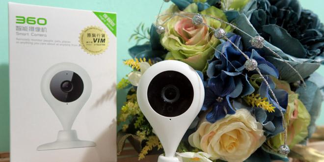 【有片】360智能攝影機開箱 + 安裝示範