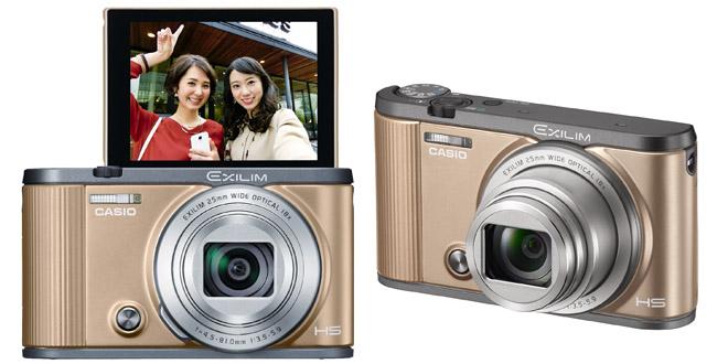 Casio EX-ZR2100美顏自拍相機 影靚人靚景必備