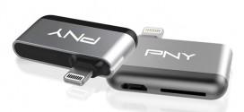 PNY Apple專用讀卡器 iPhone容量更見使!