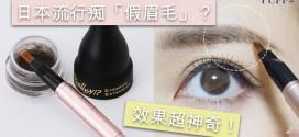 日本流行痴「假眉毛」? 效果超神奇
