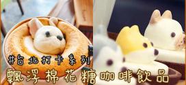超萌台灣IG人氣 立體棉花糖飲品
