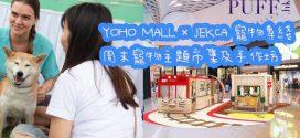 YOHO MALL x JEKCA 寵物專綫 周末寵物主題市集及手作坊