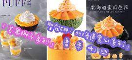 聖安娜推出「北海道蜜瓜系列」「芒果椰子系列」
