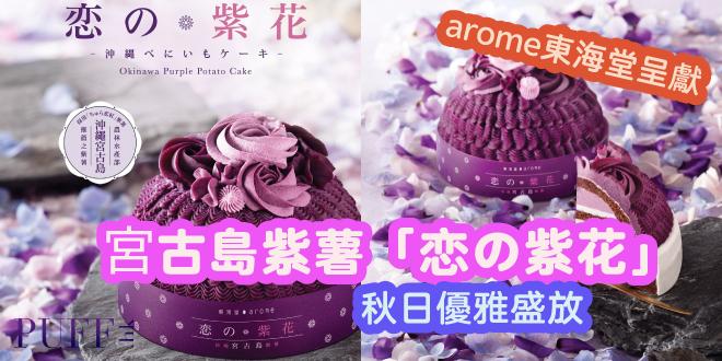 arome東海堂 沖繩宮古島紫薯「恋の紫花」
